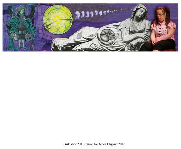 Etisk abort, för AMOS magasin.