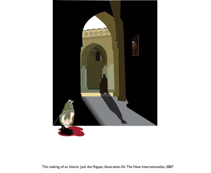 Skapandet av en islamisk Jack the Ripper, för The New Internationalist.