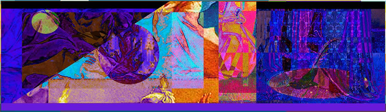 Planetära konstellationer, giclée, 40 x 15 cm
