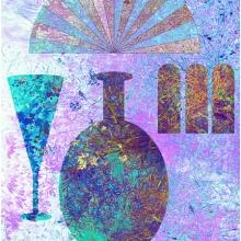 Ming Ting, giclée, 45 x 52 cm