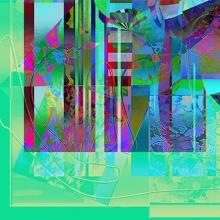 Lyckohjul I, giclée, 40 x 15 cm