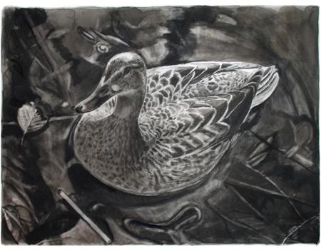 (Annalk)and(e), 40 x 35 cm, litografi