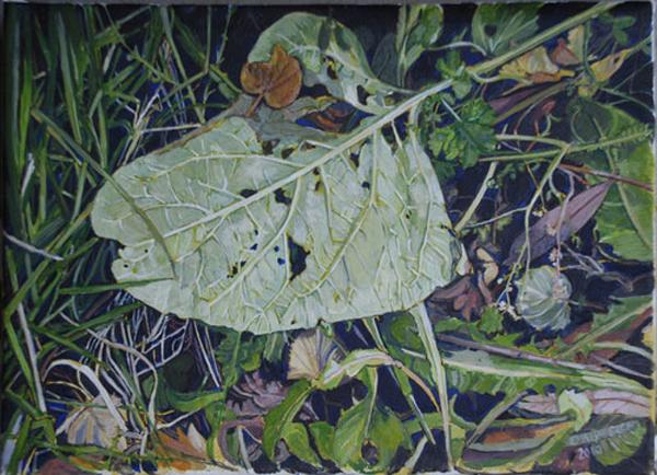Till förruttnelsen, 34 x 24, tempera, 2010