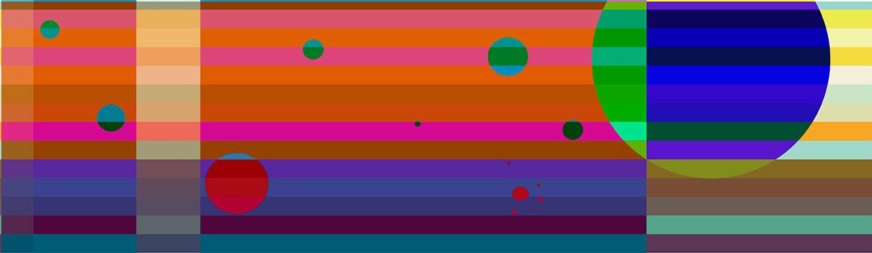 Våglängder, giclée, 40 x 15 cm