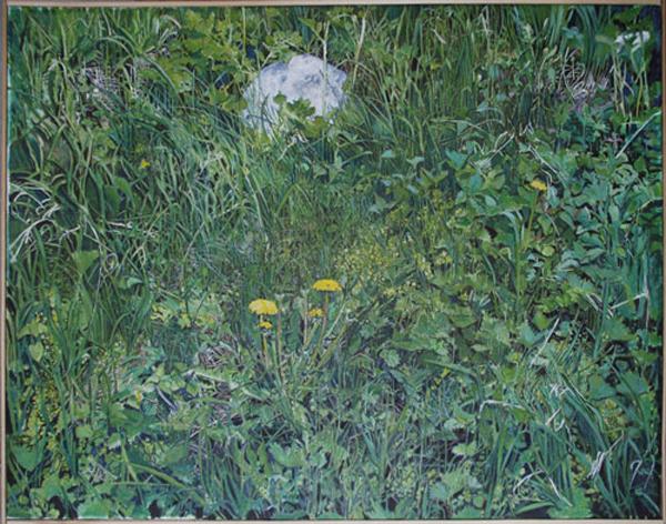 Markens gröda, 97 x 65, tempera på duk, 2011