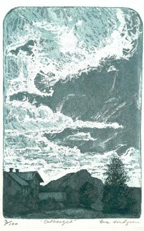 Getberget, mjukgrundsetsning och akvatint, 1986