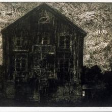 Spiraltrappan, hårdgrundsetsning, 1986