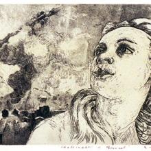 Venus i Beirut, akvatintetsning, 1982