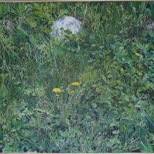 Markens gröda, 97 x 65, tempera