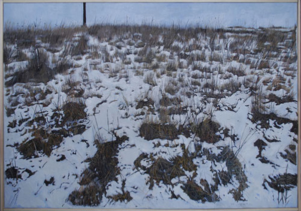 Allt kött är hö, 95 x 70, tempera, 2010
