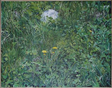 Markens gröda, 97 x 65, tempera, 2011