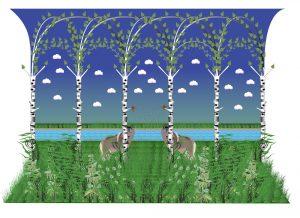 Scen II, onaturlig natur, giclée, 50 x 35 cm, 2010