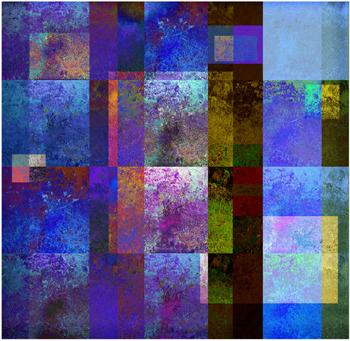 Upptäcktsresa i färg, 45 x 47 cm, giclée,