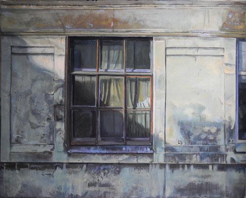 Ett gammalt fönster